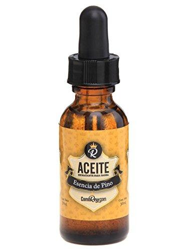 ComoRey - Aceite para Barba y/o Loción Premium que hidrata, protege & aromatiza, Olor Pino - 30ml