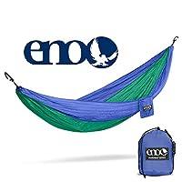 ENO - Hamaca DoubleNest de Outletters de Eagles Nest, hamaca portátil para dos, Royal /Emerald