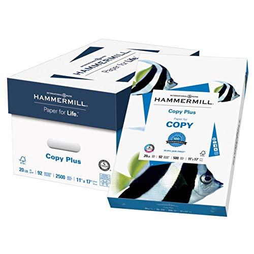 Hammermill Paper, Copy Plus Paper, 11 x 17 Paper, Ledger Size, 20lb...