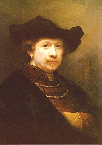 Rembrandt van Rijn - Portrait of the Artist in a Felt Cap - Royal Collection Trust UK - Windsor Castle 30