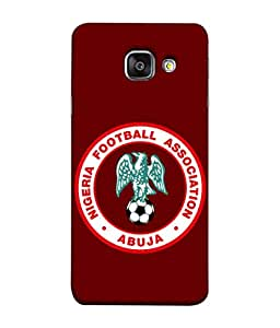 ColorKing Football Nigeria 04 Red shell case cover for Samsung A7 2016