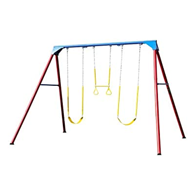 90200 Lifetime 10ft A-Frame Swing Set