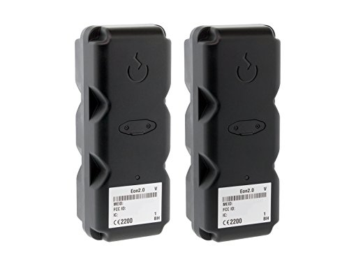 BrickHouse Security Eon v2.0 100 Days Extended Battery Magnetic Tracking Device on VERIZON Real Time Portable GPS Fleet Tracker / Vehicle (2 Pack)