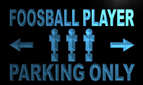 ADV PRO m321-b Foosball Player Parking Only Neon Light Sign