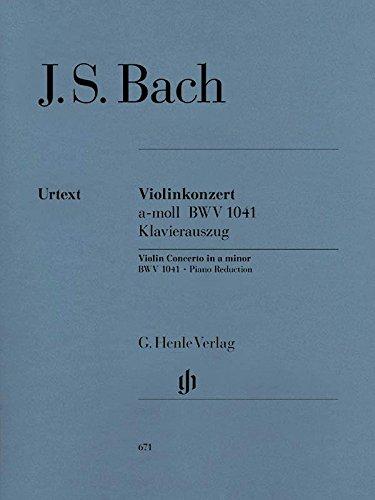 Bach: Violin Concerto in A Minor, BWV 1041 - Bach Violin Concerto In A Minor
