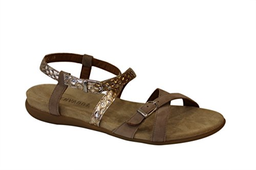 BENVADO ARIEL sandalo listini incrociati sabbia oro