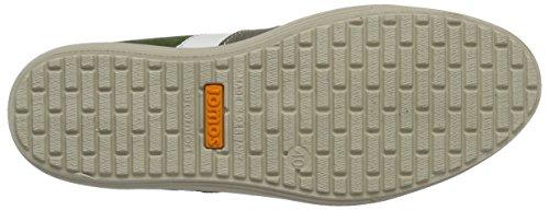 Jomos Ariva, Zapatos De Cordones Derby para Hombre Mehrfarbig (grün/platin/medoc/weiß)