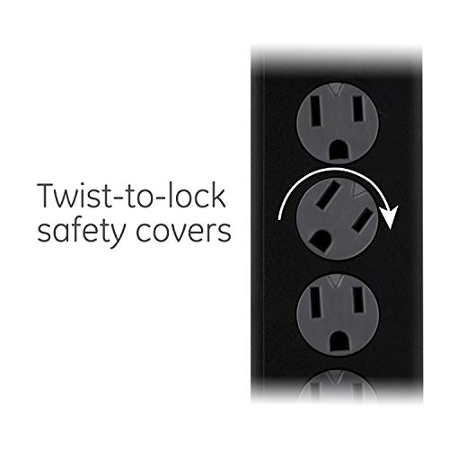 Ge Power Strip Surge Protector 6 Outlets 10 Ft Extra