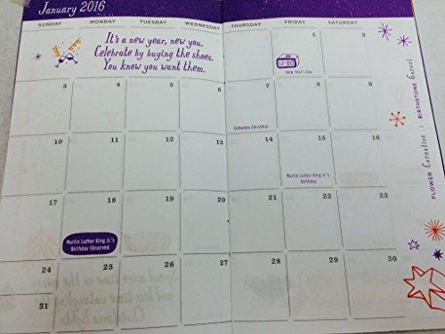 Amazon.com : 2016 Hallmark Date Book Reminder Calendar Pocket ...