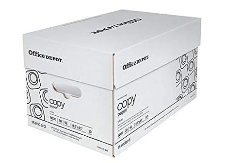 b783360d50c Amazon.com   Office Depot White Copy Paper