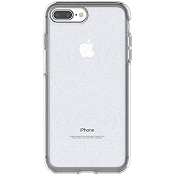 low priced 27da9 d6c72 OtterBox SYMMETRY CLEAR SERIES Case for iPhone 8 Plus & iPhone 7 Plus  (ONLY) - Retail Packaging - STARDUST (SILVER FLAKE/CLEAR)