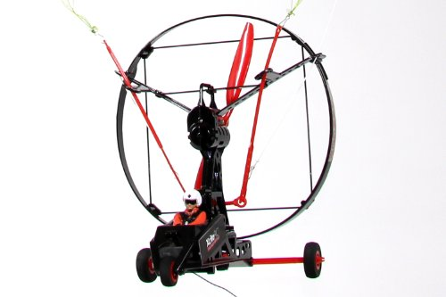 XciteRC 24000000 RC PARACOPTER Hang Glider Almost Ready to Fly with 2 4Ghz  Remote Control, Black