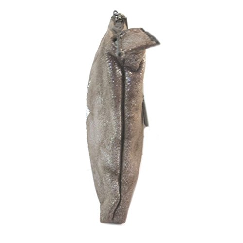 Bolsa bolsa 'Une Etoile Est Née'marrón - 24.5x18x1 cm.