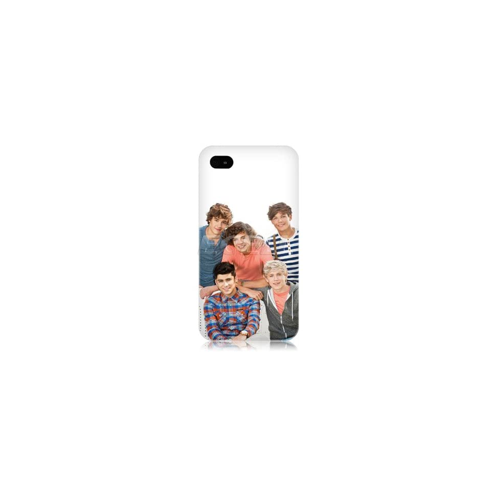 Ecell   ONE DIRECTION 1D BRITISH BOY BAND BACK CASE COVER FOR APPLE IPHONE 4 4S