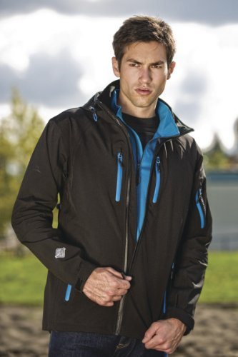 Stormtech Expedition Nero Softshell giacca Oro rtrZqwcxd