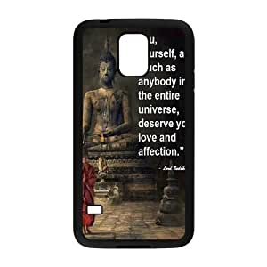 Customized Cell Phone Case Cover for SamSung Galaxy S5 I9600 with DIY Design Buddha