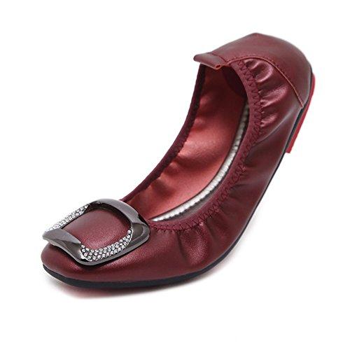 B Fond Appartements Femmes Surface Plat Casual Printemps Été Microfibre Doux Confort Mocassins HUAN Doux Chaussures pour Mocassin wa4qfO4xp