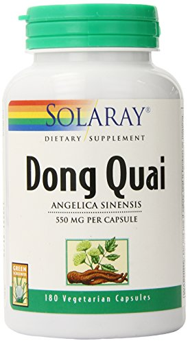 Solaray Dong Quai Capsules, 550 mg, 180 Count