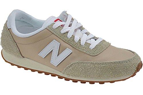 New Balance U410, Zapatillas de Estar por Casa para Hombre Beige