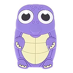Dinosaur Design Soft Case for BlackBerry curve 8520 --- COLOR:Rose