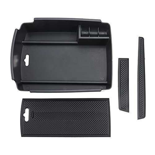 MONNY Car Central Console Storage Box Armrest Storage Box Glove Box for KIA Sportage KX5 2016