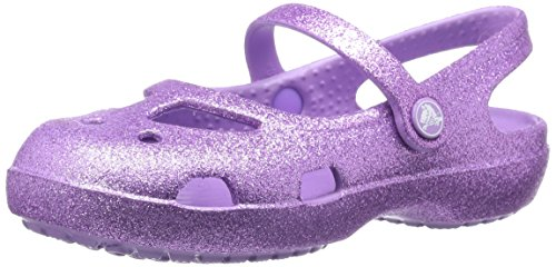 Pictures of Crocs Girls' Shayna Hi-Glitter Mary Jane crocs 14478 1