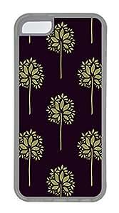 Mandala Black Bottom Cases For iPhone 5C - Summer Unique Cool 5c Cases