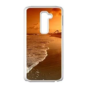 Beach LG G2 Cell Phone Case White as a gift F7913199