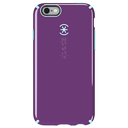 Speck Products CandyShell Case, iPhone 6s Case, iPhone 6 Case, Acai Purple/Aloe Green ()