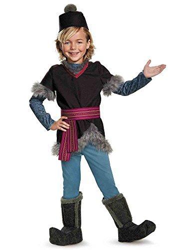 [Disguise Kristoff Deluxe Child Frozen Disney Costume, Medium/7-8 by Disguise] (Costume De Kristoff Frozen)