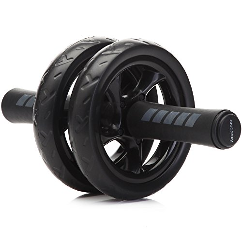 Readaeer Ab Roller Wheel Abdominal Exercise Workout Equipment with Knee Pad 41ysHT39RYL