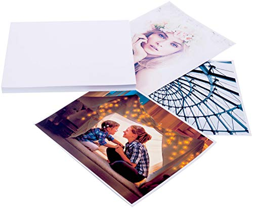 Glossy Photo Paper 8.5 x 11 Inches (50 Sheets) 60lbs/230gsm