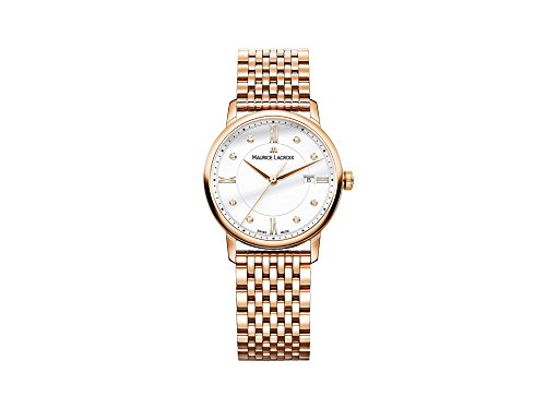 Maurice Lacroix Women's 'Eliros' Swiss Quartz Tone and Gold Casual Watch(Model: - Khor Michael