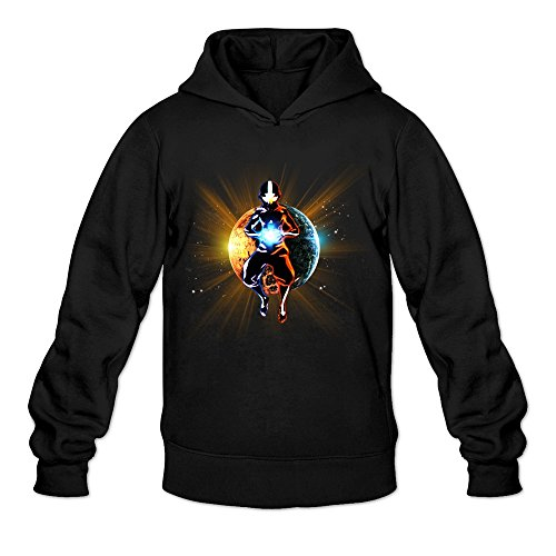 Men's Avatar The Last Airbender Poster Sweater Size S Black