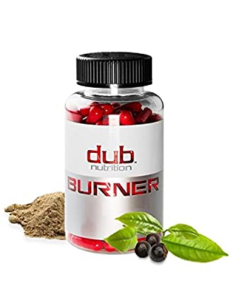 DUB BURNER-World's First Muscle-Preserving Fat Burner -Chromium Picolinate, Raspberry Ketones, Green Tea Leaf Extract, Caralluma Fimbriata- Weight-Loss Supplement-90 Natural Veggie Pills