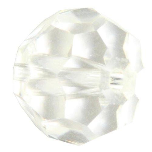 50 8mm Adabele Austrian Round Crystal Beads Crystal Clear Alternative For Swarovski Preciosa Crystalized Beads 5000 (Swarovski Crystal Tube Bracelet)