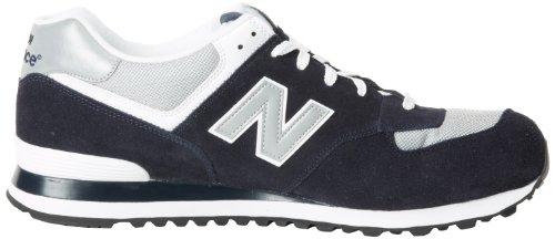 Nuovo Equilibrio M574gs Herren Sneaker Blau (blu Scuro Con Grigio)