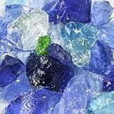 River Mix Landscape Glass Small 50 Lb Bag
