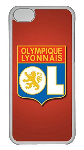 Creative GOOD 5C Case, iPhone 5C Case, Personalized Hard PC Clear Shoockproof Protective Case Cover for New Apple iPhone 5C - Olympique Lyonnais