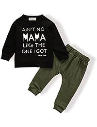 Baby Kids bebé Boy Girl Juego de Tops pantalones Leggings Ropa Ropa Impreso