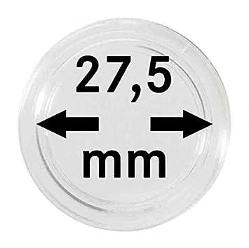 5 Münzkapseln 275mm Für 5 Euro Münze Planet Erde Blauer Planet