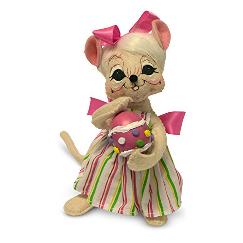 - Annalee - 6in Spring Girl Mouse