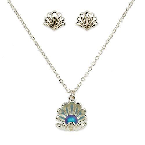 Disney Ariel Jewelry Set for Girls - The Little Mermaid Silver