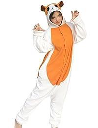 dressfan Animal Cosplay Costume Hamster Pajamas Women Girls
