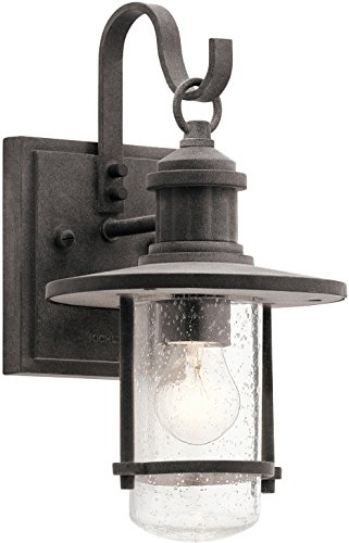 Weathered Zinc Outdoor Lighting