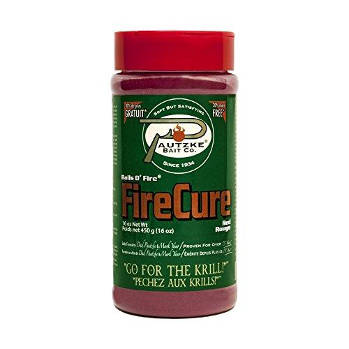 Pautzke Bait Fire Cure, Red, 16 oz ()