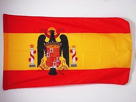 AZ FLAG Bandera de ESPAÑA DE Franco 1945-1977 150x90cm para Palo - Bandera FRANQUISTA ESPAÑOLA 90 x 150 cm: Amazon.es: Hogar
