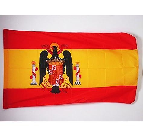 AZ FLAG Bandera de ESPAÑA 1977-1981 90x60cm para Palo - Bandera ...