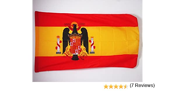 AZ FLAG Bandera de ESPAÑA DE Franco 1945-1977 90x60cm para Palo ...