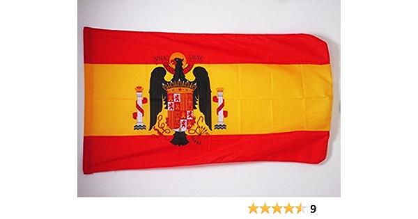 AZ FLAG Bandera de ESPAÑA DE Franco 1945-1977 90x60cm para Palo - Bandera FRANQUISTA ESPAÑOLA 60 x 90 cm: Amazon.es: Hogar